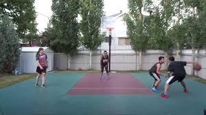 calgary backyard basketball game 2 07 06 17 youtube