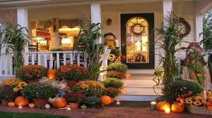 2017 thanksgiving front porch decorating ideas 3
