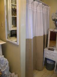 bathroom ideas with shower curtain how to tie burlap shower curtain natural bathroom ideas