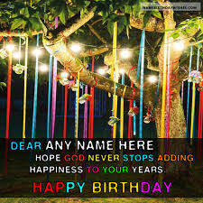 birthday wish tree decorated tree for happy birthday quotes with name hbd wishes