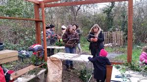 the christmas wreath making class wildcat wilderness