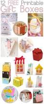 gifts from the kitchen ideas diy free printable paper gift boxes crafts various paper boxes