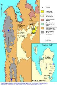 Map Of Benghazi Sabkhas And Evaporites Select Bibliography