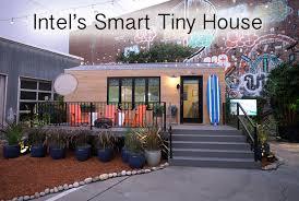 smart home tech intel builds high tech tiny house the smart house of tomorrow