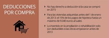 gastos deducibles de venta de vivienda 2015 en el irpf renta 2015 renta 2015 quién mantiene el beneficio fiscal por