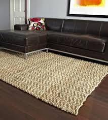natural basket weave jute rug living rooms and room