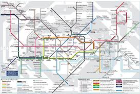 map of the underground in what is the new map with the elizabeth line who designs the
