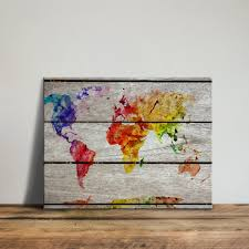 World Map Wood Wall Art by Online Get Cheap Framed World Maps Aliexpress Com Alibaba Group