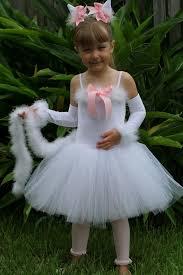 Halloween Costume Tutu Custom Boutique Halloweencostume White Kitty Costume Tutu Size 6