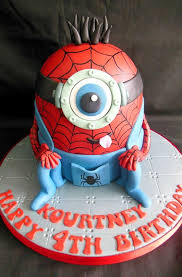 minion spiderman cake for all your cake decorating supplies