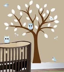 Brown Tree Wall Decal Nursery Wall Decal Tree Nursery Design Idea And Decorations Wall Decal