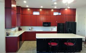 Red Kitchen Faucet Gorgeous Impression Base Kitchen Cabinets Phenomenal Exhaust Fan