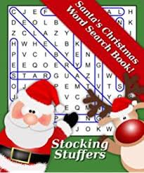 christmas stuffers stuffers the best christmas word search puzzle book