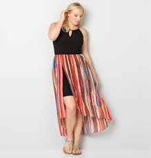 womens plus size peacock skirts from avenue