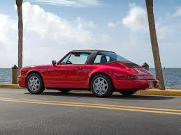 porsche 964 targa classic com 1991 porsche 964 guards red