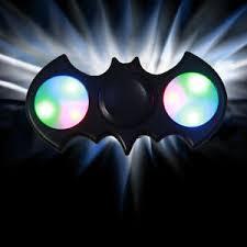 a light up fidget spinner new led light up batman hand fidget spinner for kid desk toy adhd