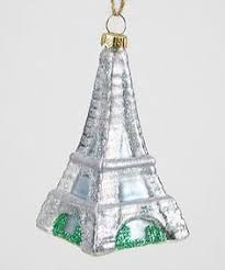 gold eiffel tower glass ornament tower ornament and glass