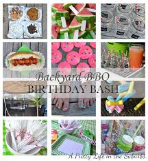 backyard bbq birthday bash a pretty life in the suburbs