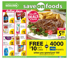Save On Foods Thanksgiving Hours Save On Foods Flyers