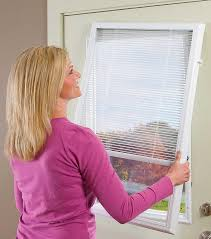 Blinds For Triple Window Odl Enclosed Blinds Add On Blinds Built In Patio Door Blinds