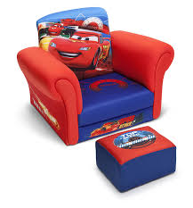 Toddler Armchair Amazon Com Delta Children Upholstered Chair With Ottoman Disney