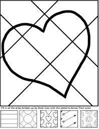 151 hearts love coloring pages adults images