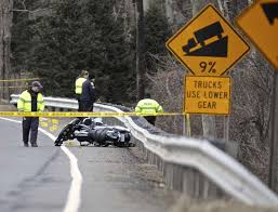fatal motorcycle accident closes route 25 in newtown newstimes