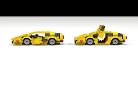 lamborghini side view png moc lamborghini countach system based creations bzpower