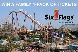 b104 six flags great america text2win weekend b104 wbwn fm