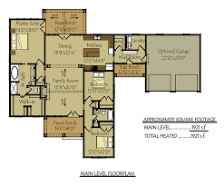 floor plans with porches cottage house plan with porches by max fulbright designs