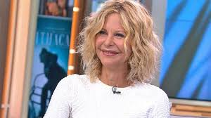 meg ryan s hairstyles over the years meg ryan reunites with tom hanks makes directorial debut on new