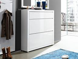 Tall Shoe Cabinet With Doors by Fino By Germania 1 Drawer And 2 Door Shoe Cabinet In High Gloss