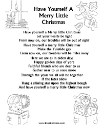 song lyric coloring pages yourself a merry