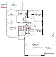 split level plans interesting large split level house plans images best inspiration