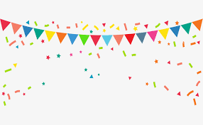 party ribbon party flag vector material ribbon banner png and vector