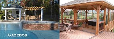 Backyards With Gazebos by Arbors And Decks Contractor Houston Tx Angies List Preferred 281