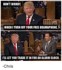 Obama Phone Meme - facebook comelecttrump2020 don t worry when iturn off your free