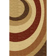 La Rugs Brown And Tan Area Rug Roselawnlutheran