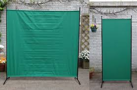 Retractable Room Divider Folding Screen For Room Divider Washable Fabric Folding Screen