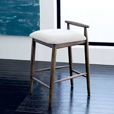 How Tall Are Kitchen Counters by Framework Upholstered Counter Stool West Elm Doesn U0027t Say How