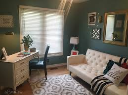 glam office redo on a budget home office pinterest as