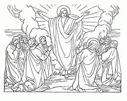 the christmas story in coloring pages for preschool kids coloring