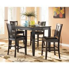 Espresso Bistro Table Attractive Square Bistro Table And Chairs With Counter Height Pub