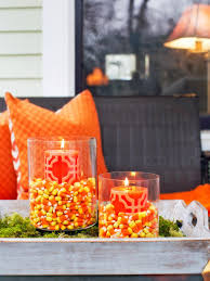 halloween fabric on sale 9 halloween front porch decorating ideas hgtv