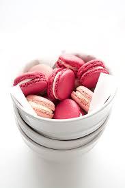 blackberry u0026 raspberry macarons with ginger u0026 lime buttercream
