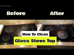 How To Clean A Glass Top Cooktop How To Clean A Glass Stove Top Cheapest U0026 Fastest Method Youtube