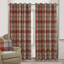 Orange And Brown Curtains Orange Curtains Orange Ready Made Curtains Orange