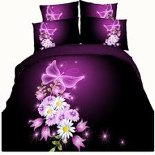 Bedding Set Manufacturers Queen Purple Butterfly Comforter Set Suppliers Best Queen Purple