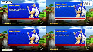 get a load of all how are the load times in sonic sega all racing