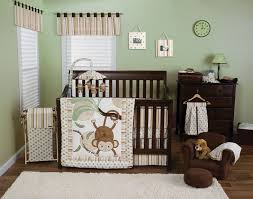 Boy Monkey Crib Bedding The Monkey 3 Pc Crib Bedding Set Baby Care Solutions